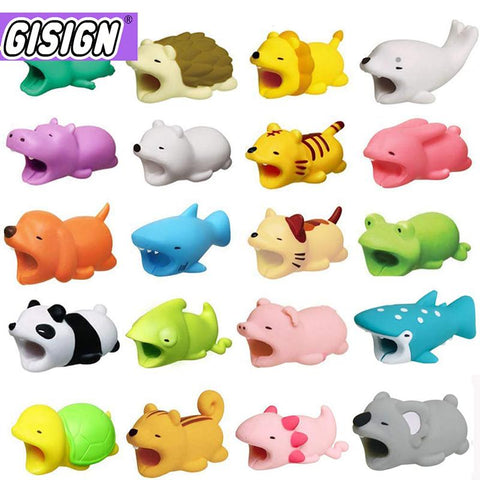 Cute Cable Bite Animals Protector For  Charging Cord - Shopit Gear