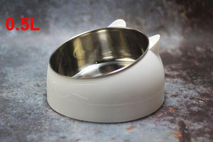 Anti-Vomiting Orthopedic Cat Bowl - Shopit Gear