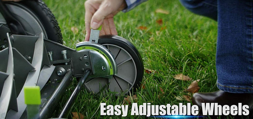 The Best Cut at the Lowest Costs with No Fuel, Oil, or Batteries! // Earthwise 5 Blade Reel Mower