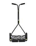 "Earthwise 16"" Manual 7 Blade Reel Mower for Bent Grass"