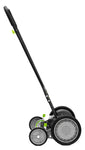 "Earthwise 18"" Manual Reel Mower with Trailing Wheels"