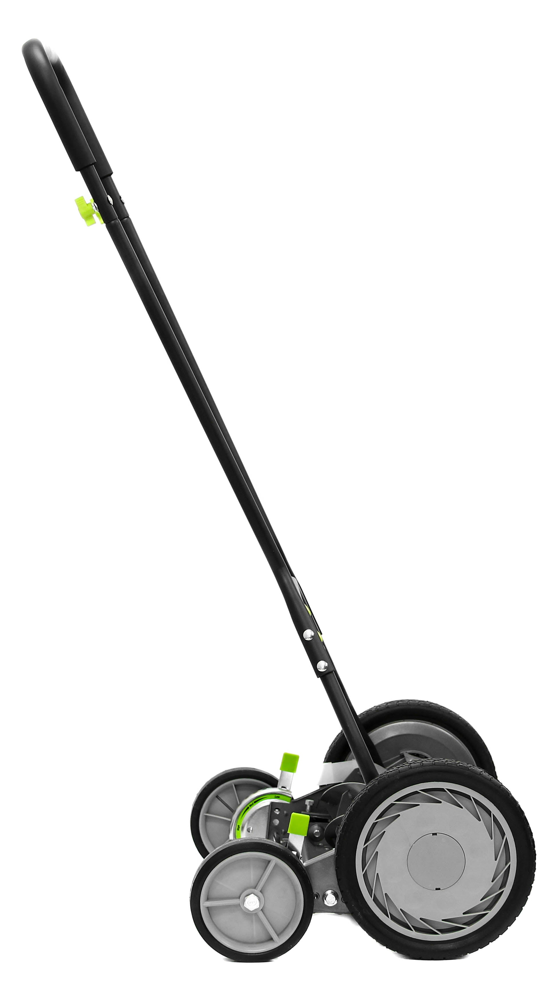 "Earthwise Power Tools by ALM 18"" Manual Reel Mower with Trailing Wheels"