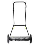 "Earthwise 20"" Manual Reel Mower with Trailing Wheels"