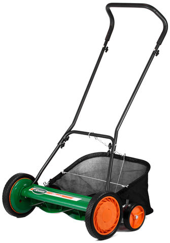 "Scotts 20"" Manual Reel Mower with Grass Catcher"