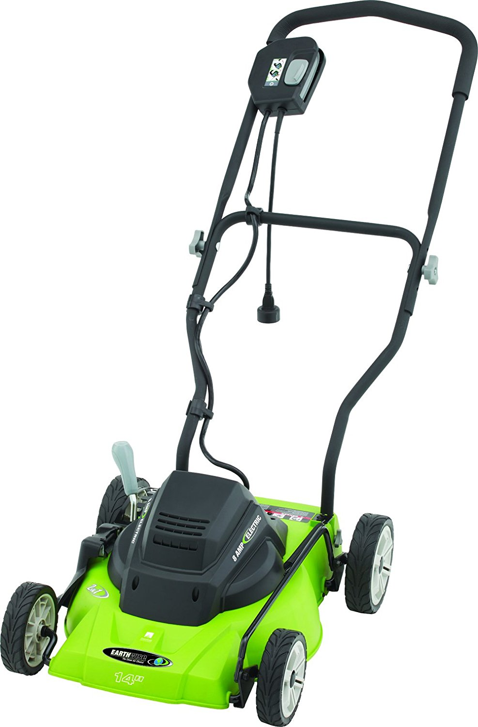 "Earthwise Power Tools by ALM 14"" 8-Amp 120V Corded Mower"