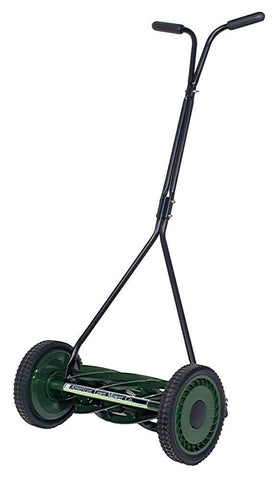 "American Lawn Mower 16"" Manual 7 Blade Reel Mower for Bent Grass"