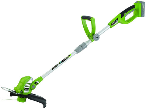 "Earthwise 12"" 20V 2Ah Lithium String Trimmer"