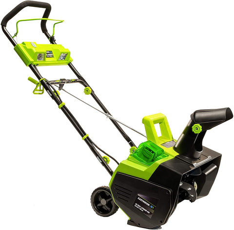 "Earthwise 22"" 40V 4Ah Lithium Snow Thrower"