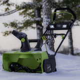 "Earthwise 22"" 14-Amp Corded Snow Thrower"