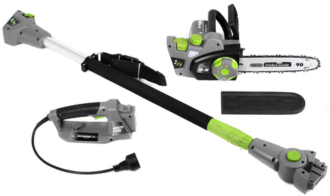 "Earthwise 10"" 7-Amp 120V Corded 2 in 1 Pole Saw"