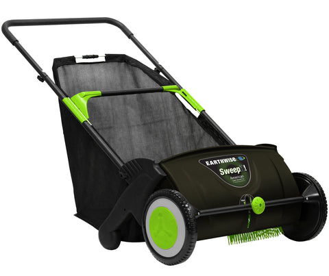 "Earthwise 21"" Manual Lawn Sweeper"