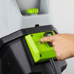 Earthwise 4500 RPM 15-Amp 120V Corded Chipper Shredder with Collection Bin