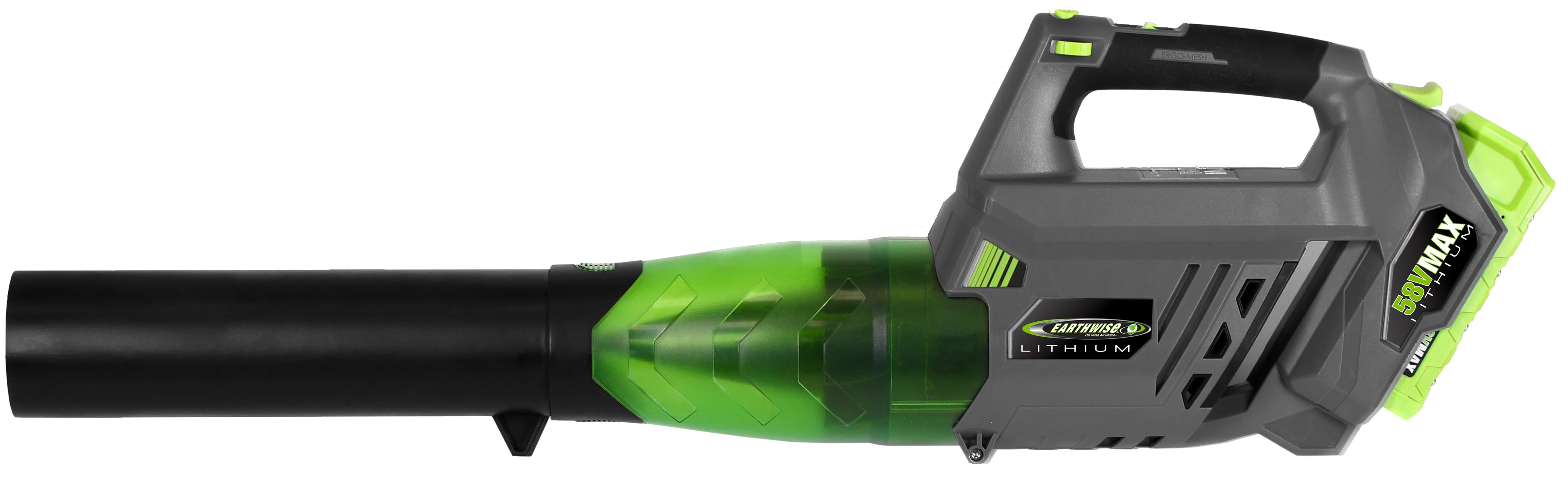 Earthwise Power Tools by ALM 155 MPH 58V 2Ah Lithium Blower