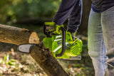 "Earthwise 10"" 20V 1.5Ah Lithium Chainsaw"