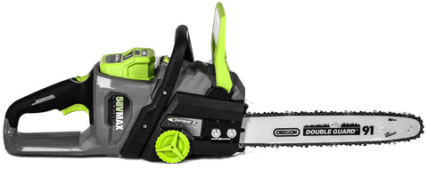 "Earthwise 14"" 58V 2Ah Lithium Chainsaw"