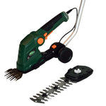 "Scotts 6.5"" Hedge Blade / 4"" Shear 7.2V 2Ah Lithium Shrub Sheer with Pole"