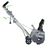 "Earthwise 18"" 13.5-Amp 120V Corded Snow Thrower with LED Headlight"