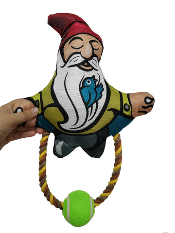 Pronk! Yoga Garden Gnome Dog Toy