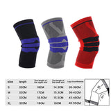 Silicon Padded Knee Sleeve - seasonBlack