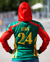 Fan's Pullover Hoodie/Jersey - Bangladesh Cricket ICCT20 WC - Unisex - seasonBlack