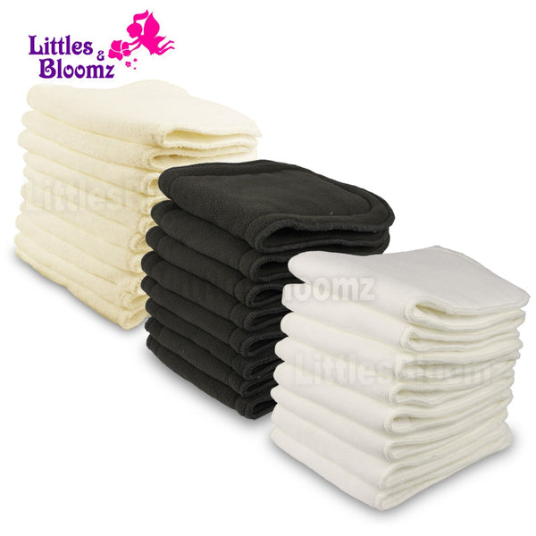 Reusable Washable Nappy Inserts - seasonBlack