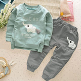 2 pcs Kids Bebes Jogging Suits