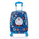"Kids Skateboard Cartoon Suitcase - Carry-on - 18""/ 3.5 Kgs - seasonBlack"
