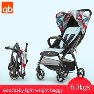 Fashinable Lightweight Travel Stroller - 6.3Kgs - seasonBlack