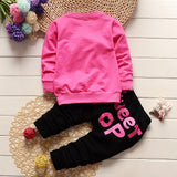 Baby Girl Spring Clothes Long Sleeve Jogging Suits