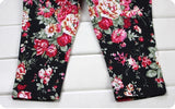 Girls Fashion Floral Casual Suit Set