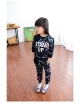 Girl Clothes Winter Kids Sport Suits
