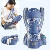 5 in 1 Soft-structured Ergonomic Baby Carrier