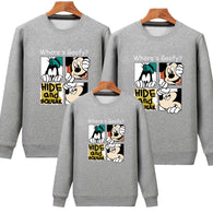 New Years Spring Family Matching Sweaters Shirts