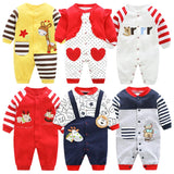 Long Sleeves Rompers Newborn Jumpsuits