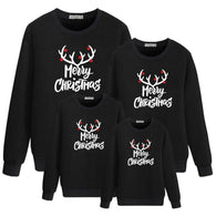 Family Matching Sweatshirt - Merry Christmas