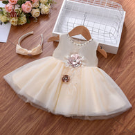Yoliyolei Baby Girl Dress 2021Tulle Party Dress