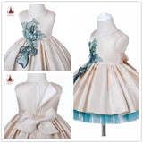 Baby Girl's Ball Gown with Hairband