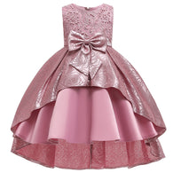 Kids Evening Swallowtail Party Dress