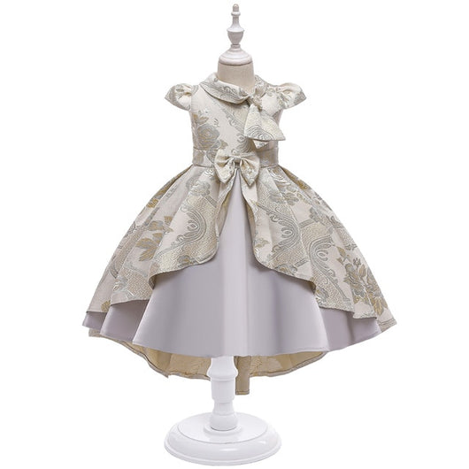 Girl's Printed Princess Dress