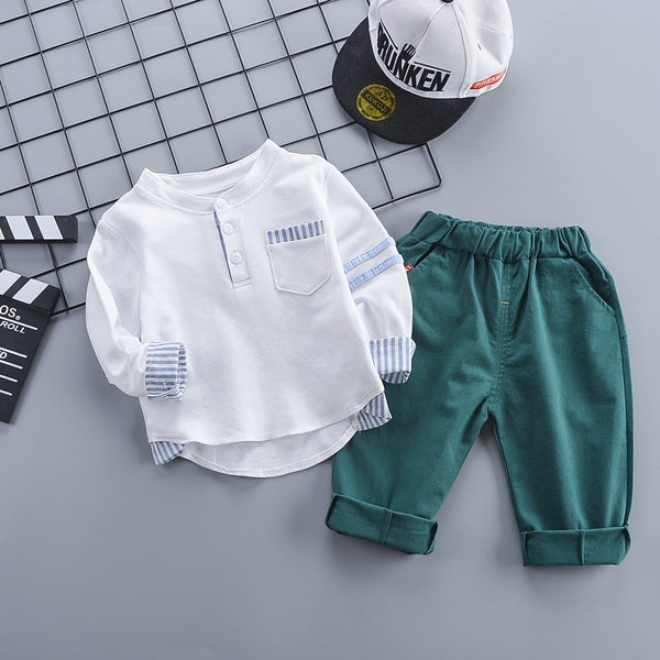 Baby Boy Spring Tracksuits Clothes