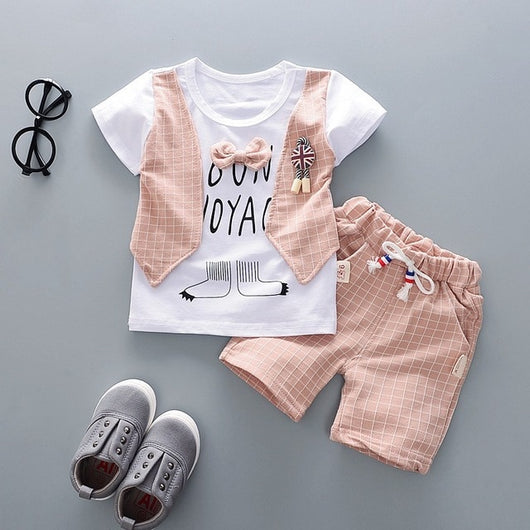 Infant's Gentleman T-shirts & Matching Shorts