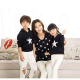 2 Colors Sweater Matching Family Clothing