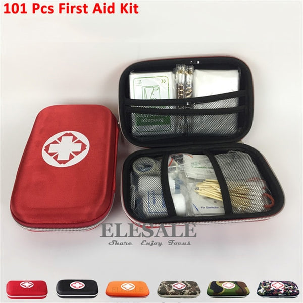 First Aid Family Kit - 101 Pieces Set - seasonBlack