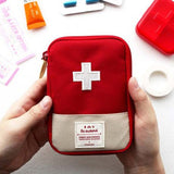 First Aid Emergency Bag - Medicine/Pill/Survival kits Organizer - seasonBlack