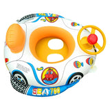 Baby Inflatable Swimming Ring - Infant Water Car - seasonBlack