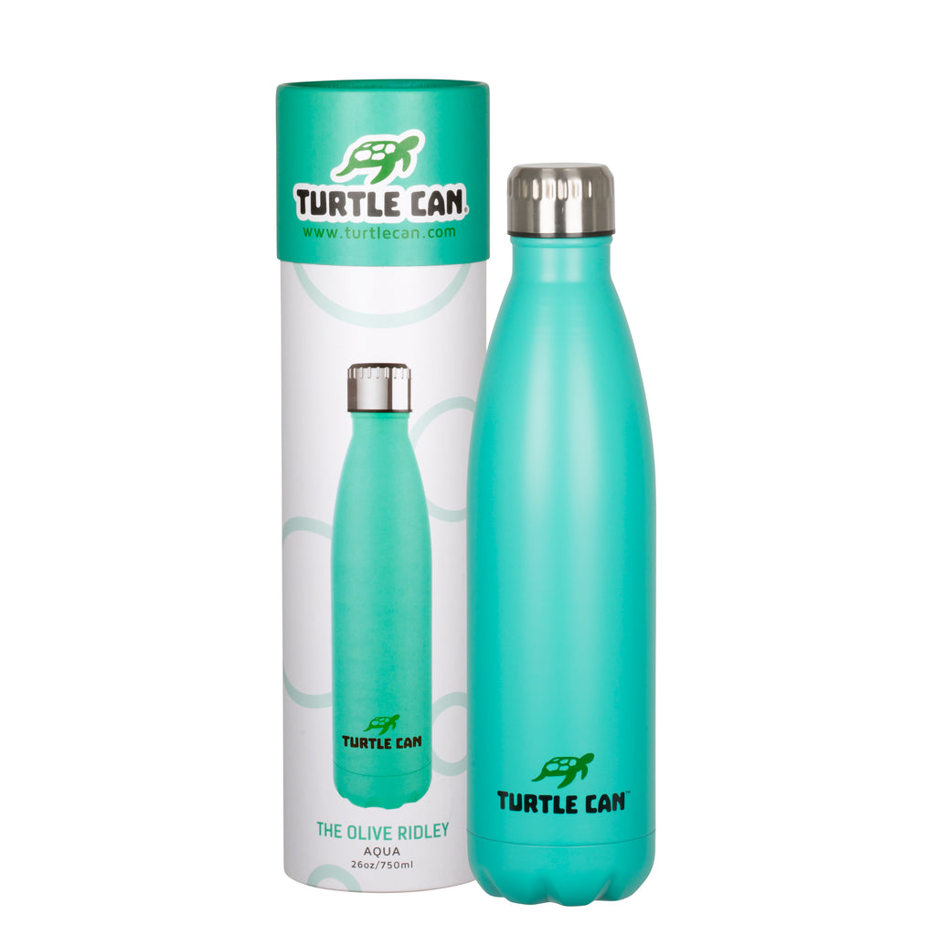 Turtle Can - The Olive Ridley (Aqua) – 750ml