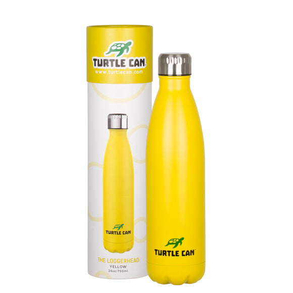 Turtle Can - The Loggerhead (Yellow) – 750ml