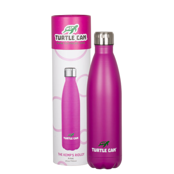 Turtle Can - The Kemp's Ridley (Pink) – 750ml