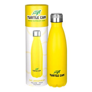 Yellow Stainless Steel Water Bottle