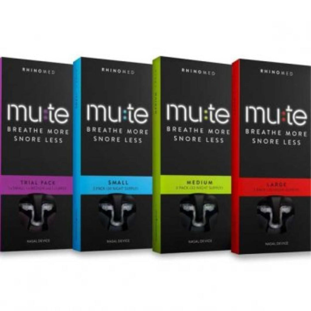 Mute - Nasal Dilators Trial Pack